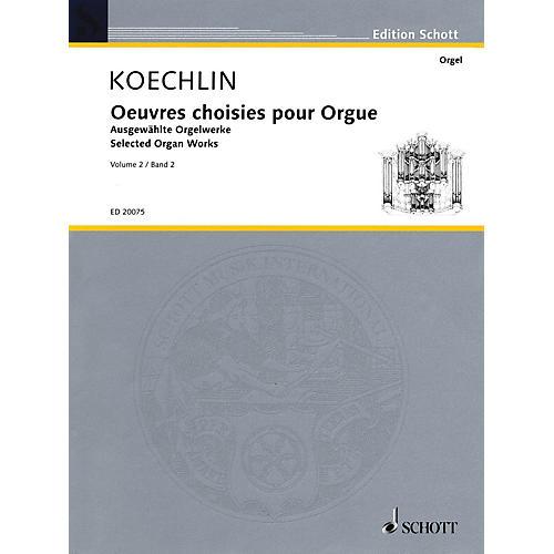 Schott Selected Organ Works - Volume 2 Organ Collection Series-thumbnail