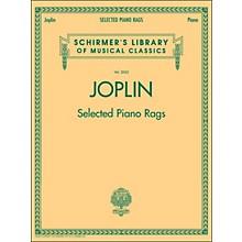 G. Schirmer Selected Piano Rags By Joplin