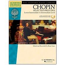 G. Schirmer Selected Preludes - Schimer Performance Edition Lower Intermediate To Intermediate Level Book/Online Audio By Chopin / Ganz