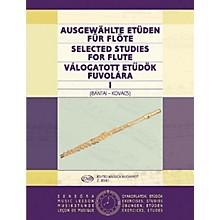 Editio Musica Budapest Selected Studies for Flute - Volume 1 EMB Series