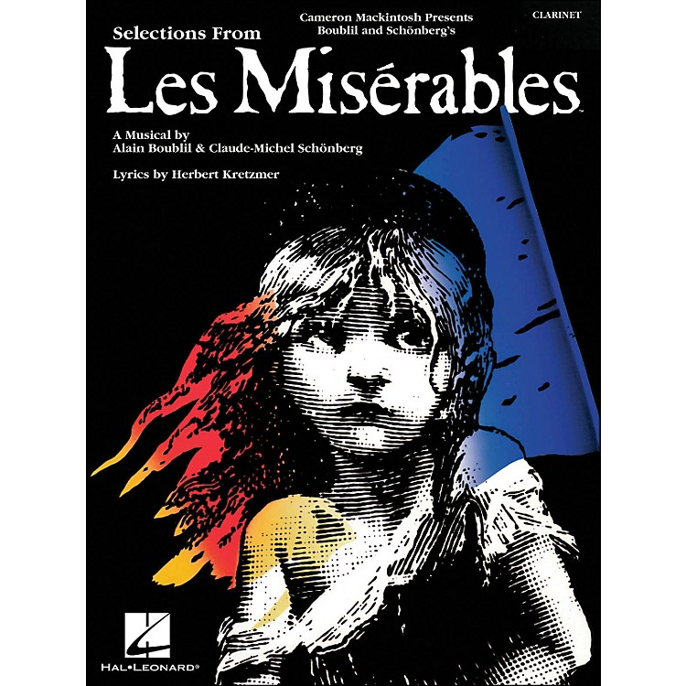 Hal LeonardSelection From Les Miserables for Clarinet