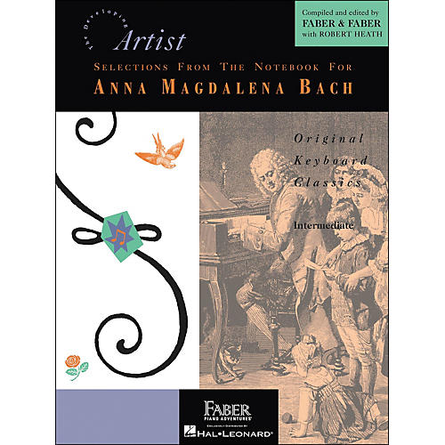 Faber Piano Adventures Selections From The Notebook for Anna Magdalena Bach - Faber Piano