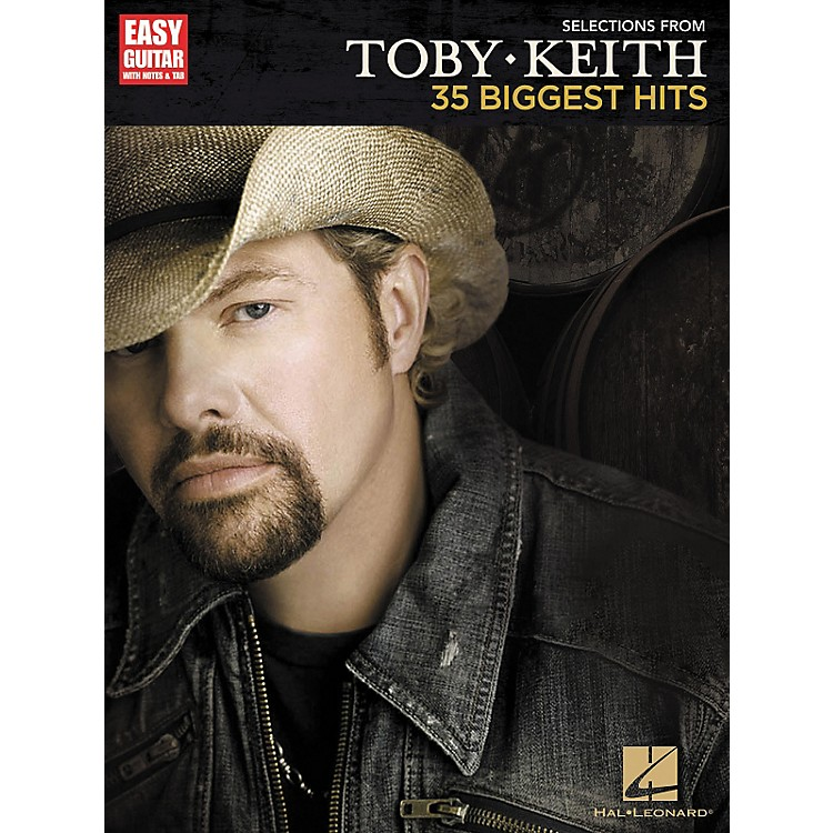 Hal LeonardSelections From Toby Keith: 35 Biggest Hits - Easy Guitar Songbook