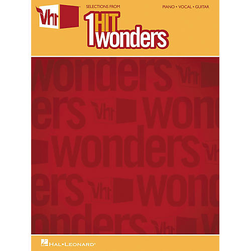 Hal Leonard Selections From VH1's 1-Hit Wonders Piano, Vocal, Guitar Songbook