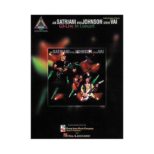 Hal Leonard Selections from G3 Live in Concert Guitar Tab Songbook-thumbnail