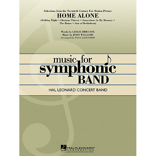 Hal Leonard Selections from Home Alone Concert Band Level 4 Arranged by Paul Lavender-thumbnail
