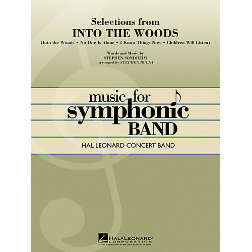 Hal Leonard Selections from Into the Woods Concert Band Level 4 Arranged by Stephen Bulla-thumbnail