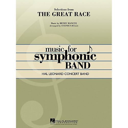 Hal Leonard Selections from The Great Race Concert Band Level 4 Arranged by Stephen Bulla-thumbnail