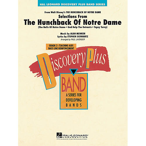 Hal Leonard Selections from The Hunchback of Notre Dame - Discovery Plus Band  Level 2 arranged by Paul Lavender