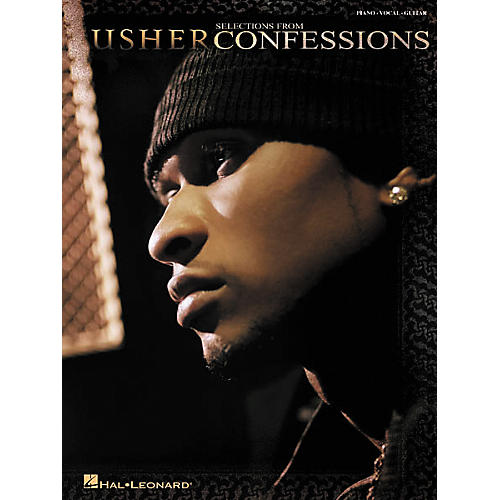 Hal Leonard Selections from Usher Confessions Piano, Vocal, Guitar Songbook-thumbnail
