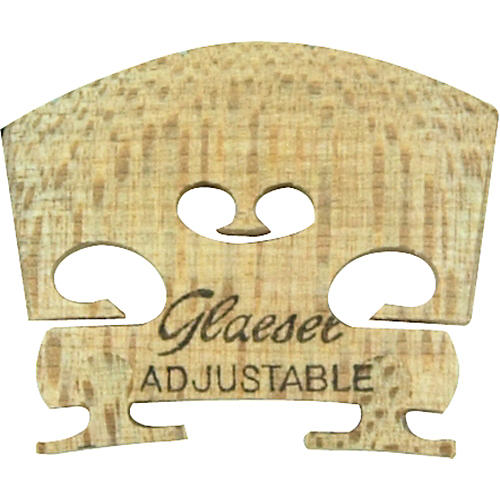 Glaesel Self-Adjusting 1/4 Violin Bridge  Medium