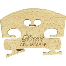 Glaesel Self-Adjusting 3/4 Violin Bridge Low