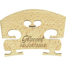 Glaesel Self-Adjusting 4/4 Violin Bridge Medium