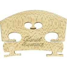 Glaesel Self-Adjusting Full Viola Bridge High