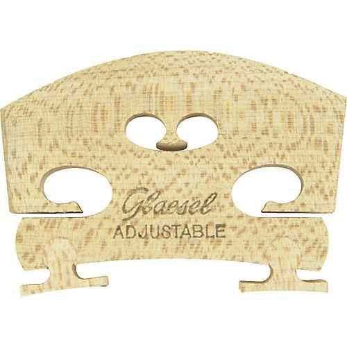 Glaesel Self-Adjusting Full Viola Bridge-thumbnail