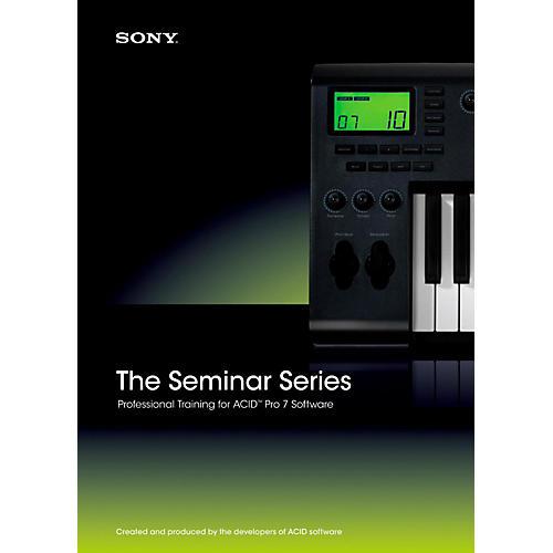 Sony Seminar Series: Sony ACID Pro 7