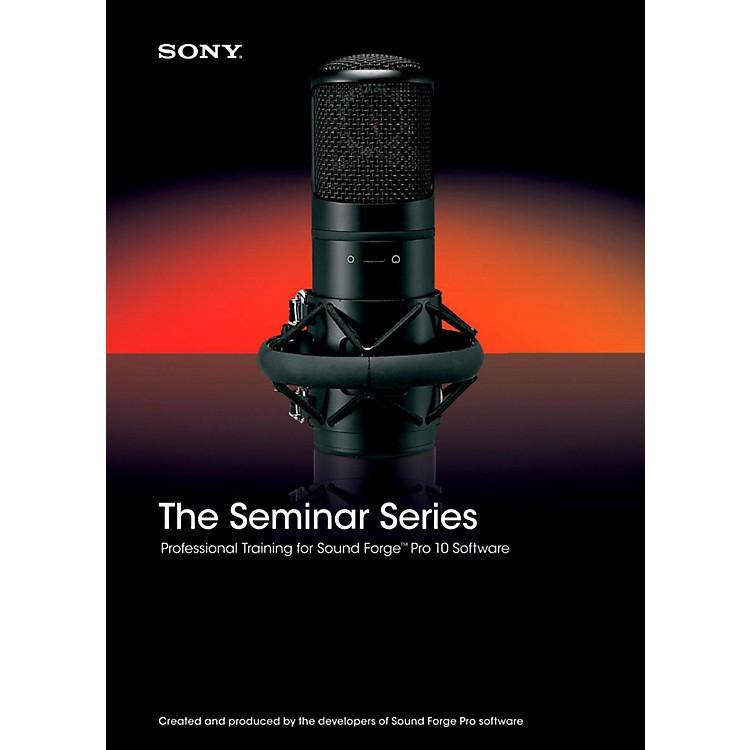 SonySeminar Series: Sony Sound Forge Pro 10