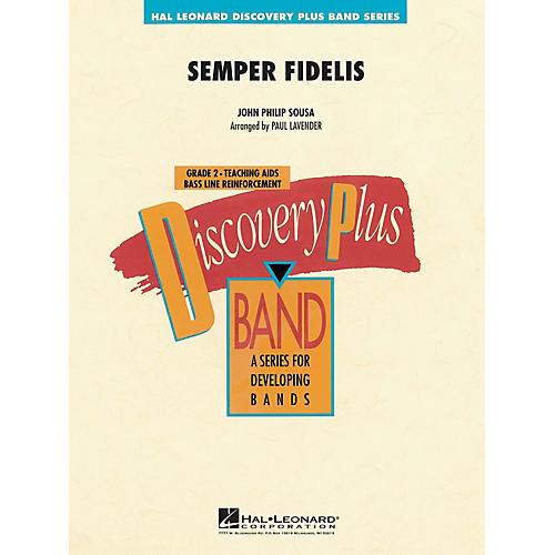 Hal Leonard Semper Fidelis - Discovery Plus Concert Band Series Level 2 arranged by Paul Lavender-thumbnail