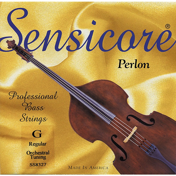 Super SensitiveSensicore Bass StringsG, Medium3/4 Size