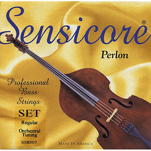 Super Sensitive Sensicore Bass Strings Set, Solo 3/4 Size