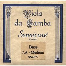 Super Sensitive Sensicore Bass Viola de Gamba Strings A7, Steel/Synthetic