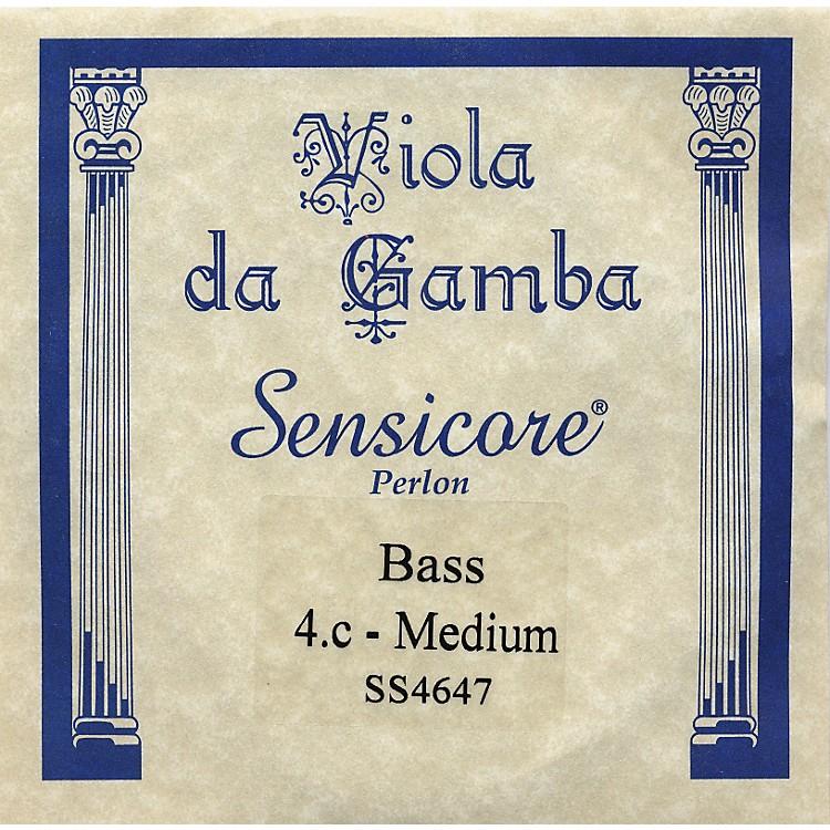 Super SensitiveSensicore Bass Viola de Gamba StringsC4 Alum/Synthetic