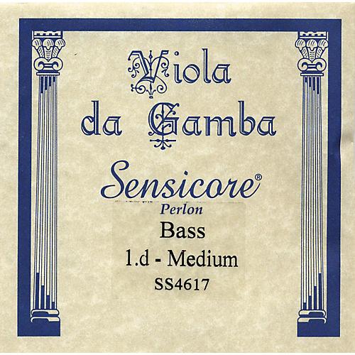 Super Sensitive Sensicore Bass Viola de Gamba Strings D1 Alum/Synthetic