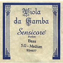 Super Sensitive Sensicore Bass Viola de Gamba Strings G5, Steel/Synthetic