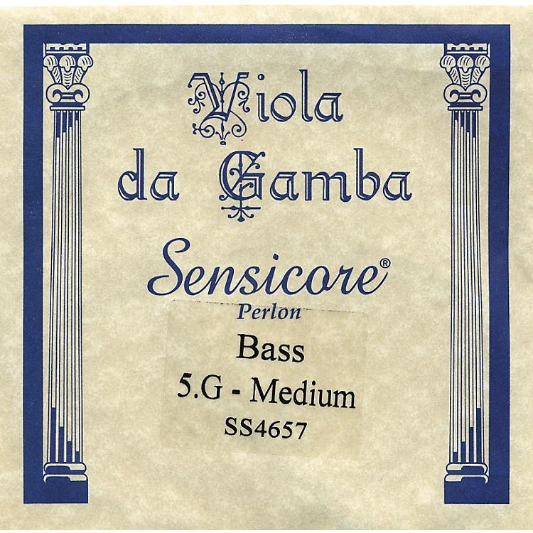 Super SensitiveSensicore Bass Viola de Gamba StringsG5, Steel/Synthetic