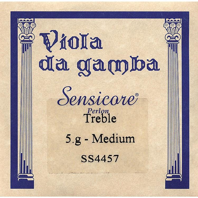 Super SensitiveSensicore Treble Gamba StringsG-5, Steel/Synthetic