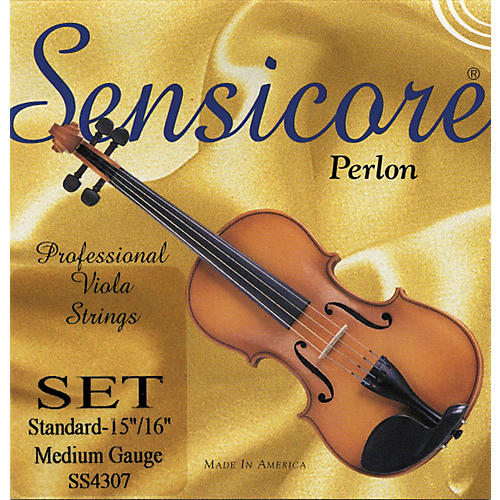 Super Sensitive Sensicore Viola Strings Set, Medium 15+ in.