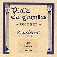 Super Sensitive Sensicore Viola de Tenor Gamba Strings Set, Medium