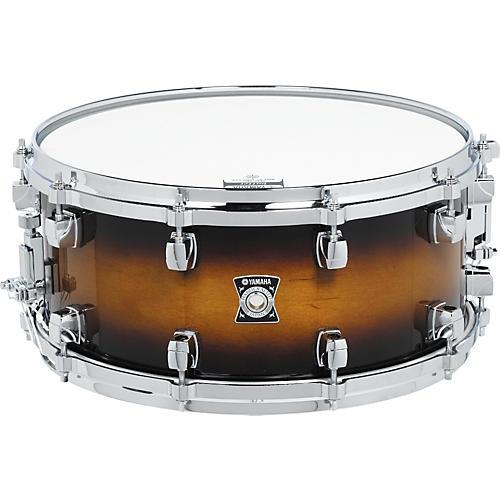 Yamaha Sensitive Series Snare Drum 13 x 6.5 Amber Sunburst