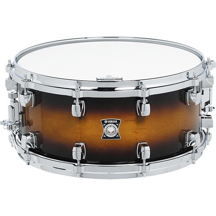 Yamaha Sensitive Series Snare Drum 14X6.5 Amber Sunburst