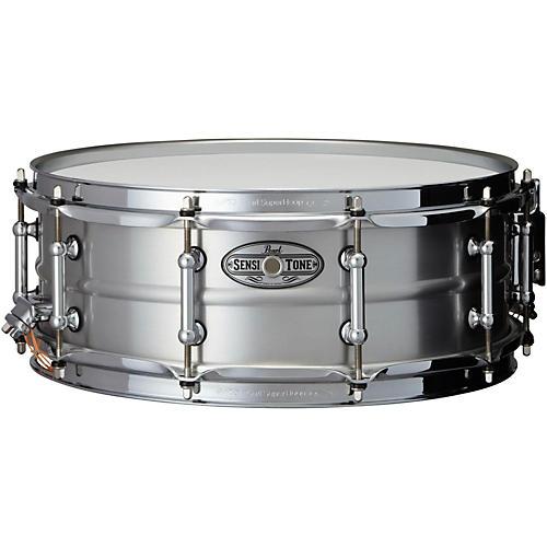 Pearl Sensitone Beaded Seamless Aluminum Snare Drum-thumbnail