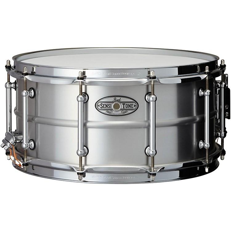 pearl sensitone beaded seamless aluminum snare drum 14x6 5 inch musician 39 s friend. Black Bedroom Furniture Sets. Home Design Ideas