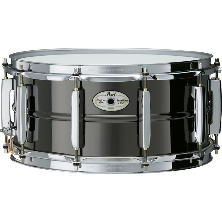 Pearl Sensitone Elite Beaded Brass Snare 14X6.5