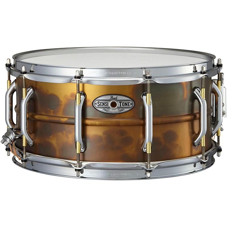 Pearl Sensitone Snare : pearl sensitone premium beaded patina brass snare drum musician 39 s friend ~ Vivirlamusica.com Haus und Dekorationen