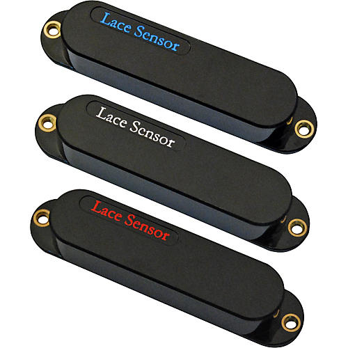 Lace Sensor Blue-Silver-Red 3-Pack S-S-S Pickup Set
