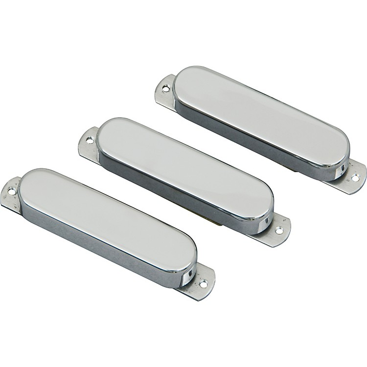 Lace Sensor Chrome Dome Guitar Pickups 3 Pack 6.0 - 6.0 - 13.2K Chrome