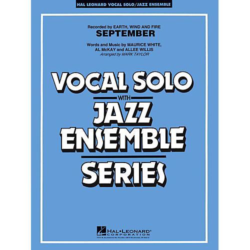 Hal Leonard September Vocal Solo Jazz Band Level 3 - 4