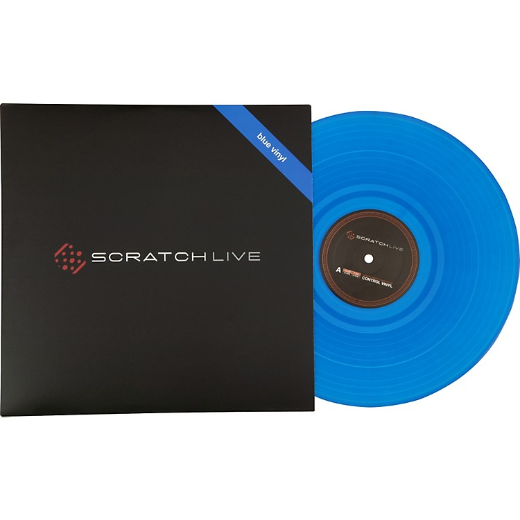 Rane Serato Scratch LIVE - Second Edition Control Vinyl Record Blue