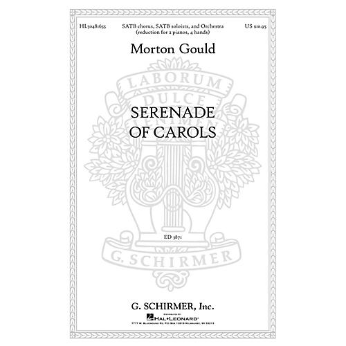 G. Schirmer Serenade Of Carols composed by M Gould