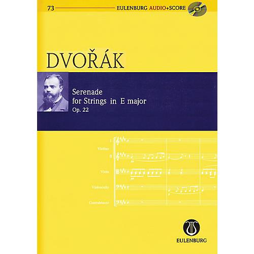Eulenburg Serenade for Strings in E Major Op. 22 Eulenberg Audio plus Score Softcover with CD by Antonin Dvorák-thumbnail