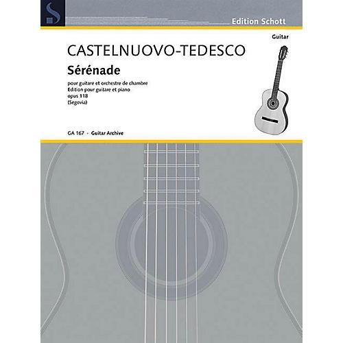 Schott Serenade in D Minor, Op. 118 (Guitar and Piano) Schott Series-thumbnail