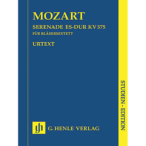 G. Henle Verlag Serenade in Eb Major K375 (Study Score) Henle Study Scores Series Softcover by Wolfgang Amadeus Mozart-thumbnail