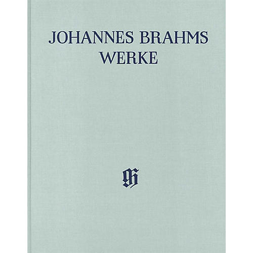 G. Henle Verlag Serenades and Ouvertures - Arrangements for Piano 4-Hands Henle Complete Hardcover by Brahms-thumbnail