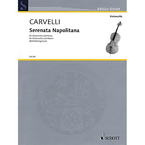 Schott Serenata Napolitana Schott Series Softcover Composed by Luigi Carvelli Edited by Wolfgang Birtel
