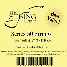The String Centre Series 50 Double Bass String Set 1/4 Size set
