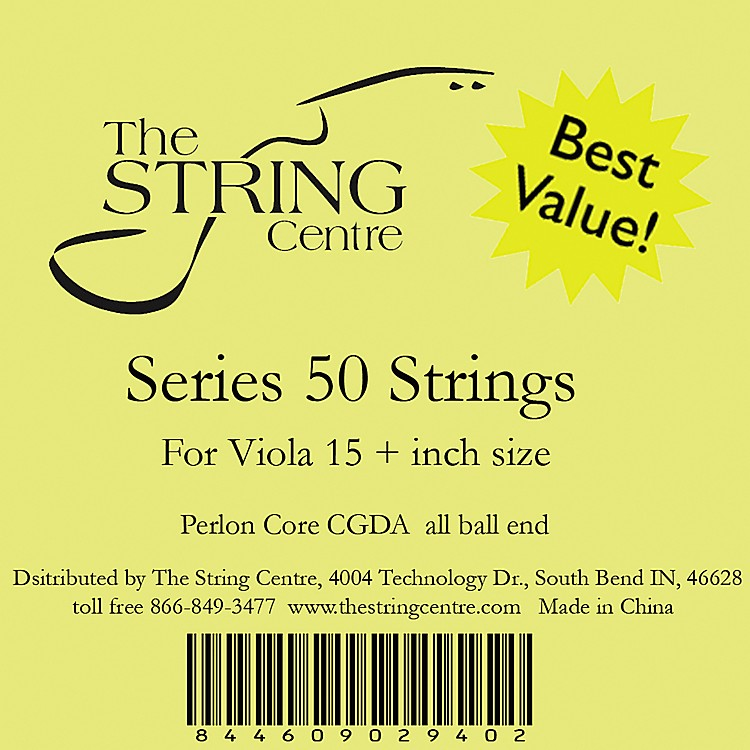 The String Centre Series 50 Viola String Set 15+ Inch